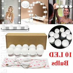 10 LED Dimmable Light Bulbs - For Makeup Mirror Vanity, Phot