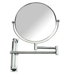 Lansi 10x Magnifying Wall Mounted Makeup Mirror,10X Magnific