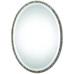 Uttermost 12924 Annadel Oval Wall Mirror, Brown