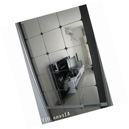 15x15cm squares roof ceiling decor mirror surface