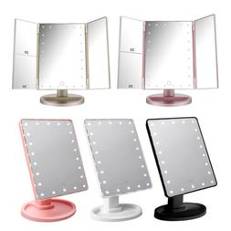 16 LED 22 LED Light Vanity Makeup Cosmetic Mirror Touch Scre
