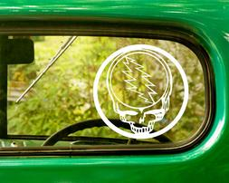 2 GRATEFUL DEAD DECAL Bogo Stickers For Car Truck Window Bum