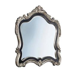 Acme Furniture 20544 Chantelle Mirror, Antique Platinum