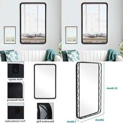 "20""X31.5"" Black Mirror For Bathroom - Mirrors For Wall W"
