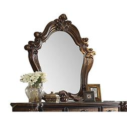 Acme Furniture 21104 Versailles Mirror, Cherry Oak
