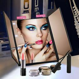 22 LED Lights Vanity Makeup Mirror Touch Screen Lighted Tabl