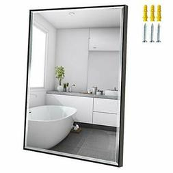 Calenzana 22x30 Mirror Wall Hanging Black Frame Mirrors for