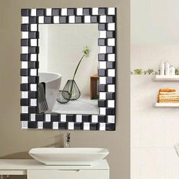 "23.5"" x 31.5"" Rectangular Wall-Mounted Wooden Frame Vanity M"