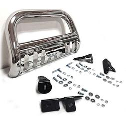 """3"""" Chrome Front Bumper Grill Guard Bull Bar Fit 99-07 CHEVY"""