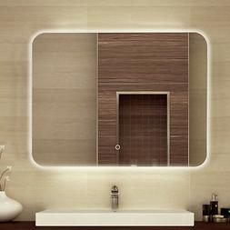 "32 x 24"" Backlit Bathroom Mirror LED Illuminated Wall Mount"