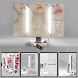 36 LED Light Vanity Makeup Mirror Touch Screen Tabletop Cosm
