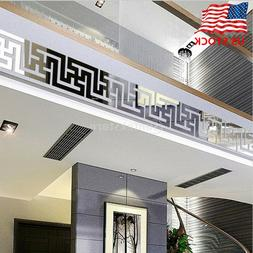 3D Mirror Wall Sticker Nordic style Wall Art Decals Removabl
