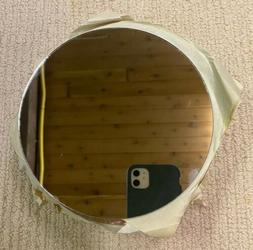"""6"""" Round Glass Mirrors for Craft, Wood Working Projects Set"""