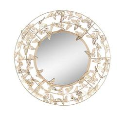 Deco 79 74836 Wall Mirror, Gold