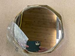 """8"""" Round Glass Mirrors for Craft, Wood Working Projects Set"""