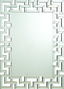 Coaster Home Furnishings Interlocking Frameless Wall Mirror