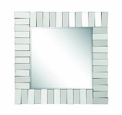 Coaster Home Furnishings Square Wall Mirror Silver