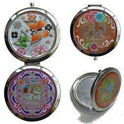 Compact Makeup Cosmetic Mirror for Purses or Travel 2 Inch U