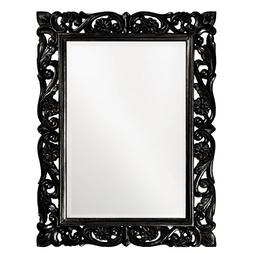 Howard Elliott 2113BL Chateau Mirror, Black