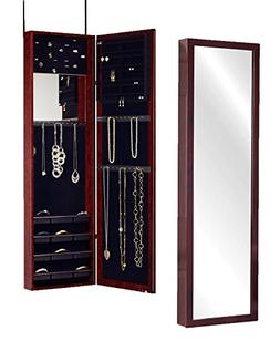 Plaza Astoria Over The Door/Wall-Mount Jewelry Armoire with