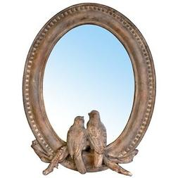"A&B Home 7"" x 9"" Love Birds Tabletop Mirror"