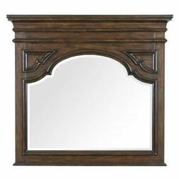 accent mirror in aged brandy