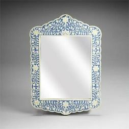 Beaumont Lane Accent Wall Mirror in Blue