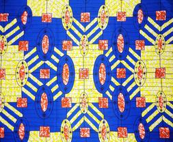 African Mirrors Fabric BY 1/2 YARD CONTACT US IF TROUBLE ORD