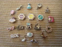 """Authentic Origami Owl """"Your Choice"""" of HTF Charms """"New""""  #C1"""