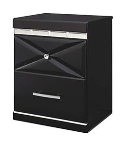 Ashley Furniture Signature Design - Fancee Nightstand - Blac