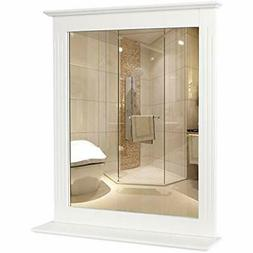 HOMFA Bathroom Wall Mirror Vanity Mirror Makeup Mirror Frame