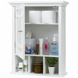BCP Bathroom Vanity Mirror Wall Storage Cabinet