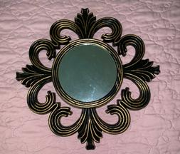 Beautiful set of wall mirrors for living room / Gold