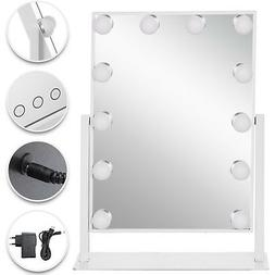 Beautify Lighted Makeup Vanity Mirror with 14x LED Dimmer Li