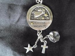 Believe in Miracles Ganz Car Charm w/Dangle Charms & Chain f