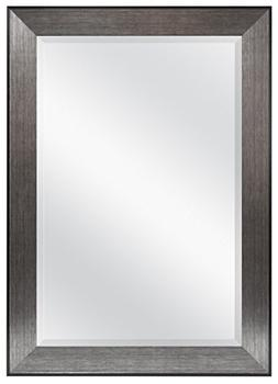 Beveled Mirror, Black