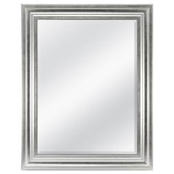 """Bevelled Wall Mirror, 23"""" x 29"""", Silver Finish"""