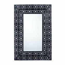 Black Mirrors For Wall Decor, Metal Contemporary Wall Mirror