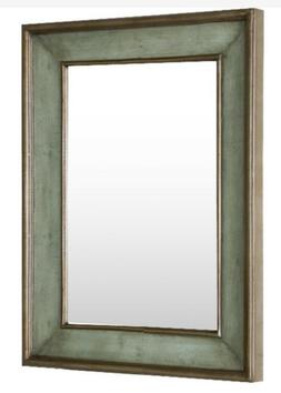Bronze Frame Wall Mirror For Bedroom or Living Large Rectang