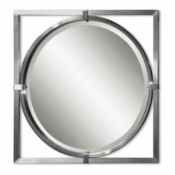 Uttermost 'Kagami' Brushed Nickel Mirror, Size One Size - Me