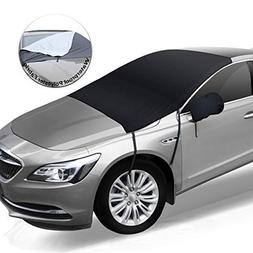 Feagar Car Windshield Snow Cover, Frost Guard Windshield Cov