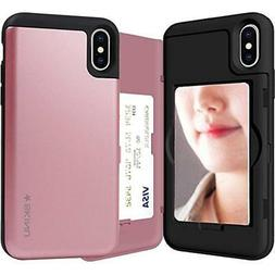 Categories IPhone X Case, Credit Card Holder ID Slot Mirror