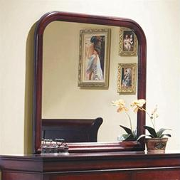 Coaster Company Louis Philippe Collection Mirror, Red/Brown