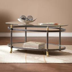 Coffee Tables For Living Room Cocktail Table Oval Mirrored G