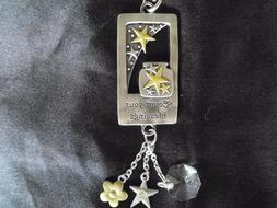 Count Your Blessings Ganz Car Charm w/Dangle Charms & Chain