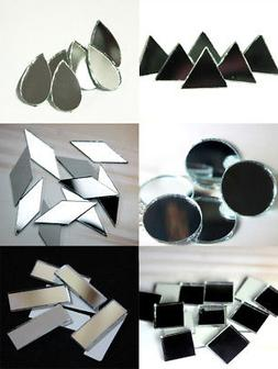 Craft Sheesha Mirrors Pieces for Embroidery Craft and DIY Pu