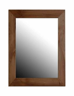 decorative wall mirror mahogany dm47053