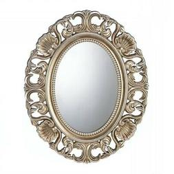 Decorative Wall Mirrors, Rustic Antique Gold Framed Wall Mir