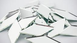 2 Inch Diamond Shape Mirror Mosaic Tile. 25 pcs