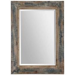 Uttermost 'Bozeman' Distressed Wooden Mirror, Size One Size